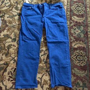 Men's Levi's Blue Jeans Size 38x30